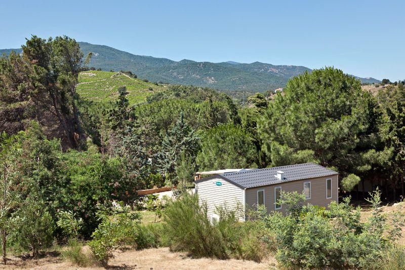 1. Mobile home premium 2 chambres 2 salles de bains côté montagne -
